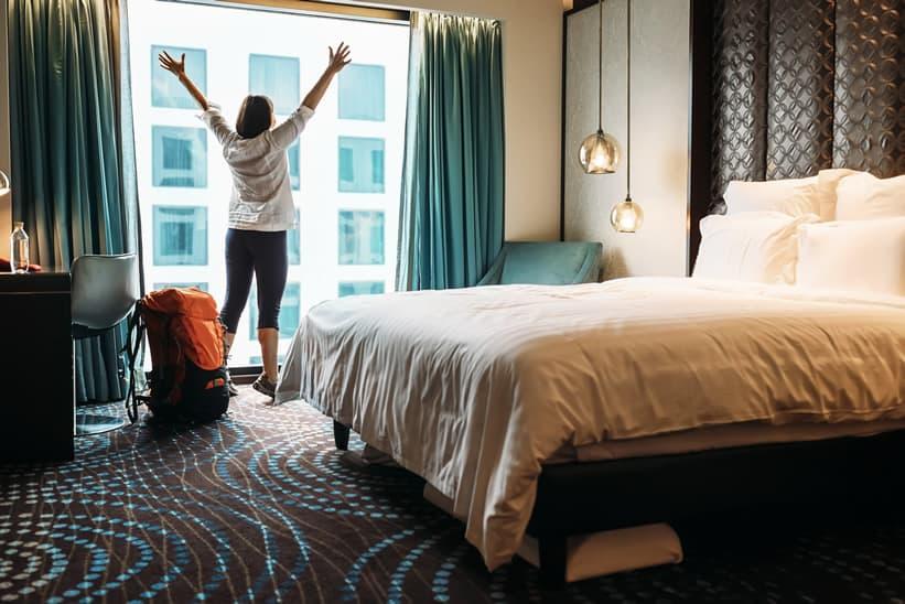 Earn free hotel nights