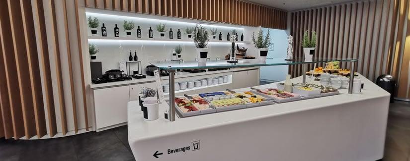 Germany BA Business Lounge Food