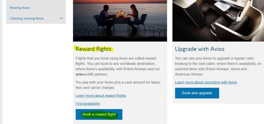 Step 3 - Book a Reward Flight