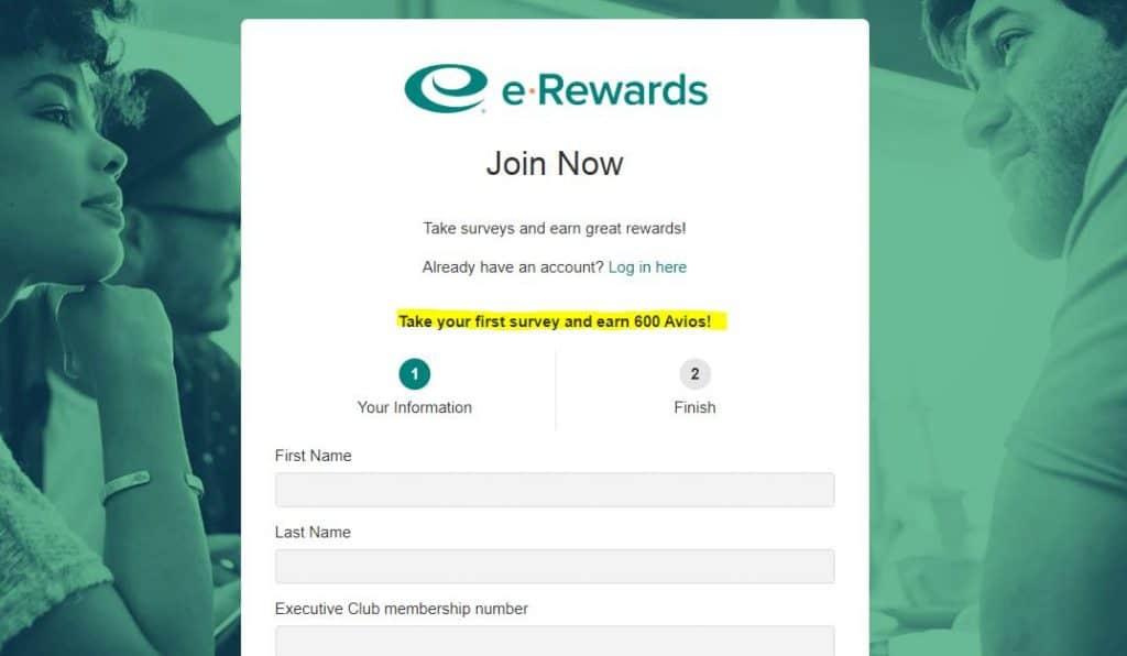 Join e-Rewards
