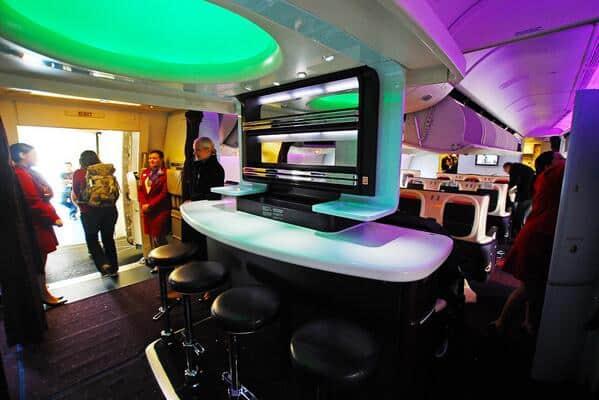 Bar in Virgin Upper Class