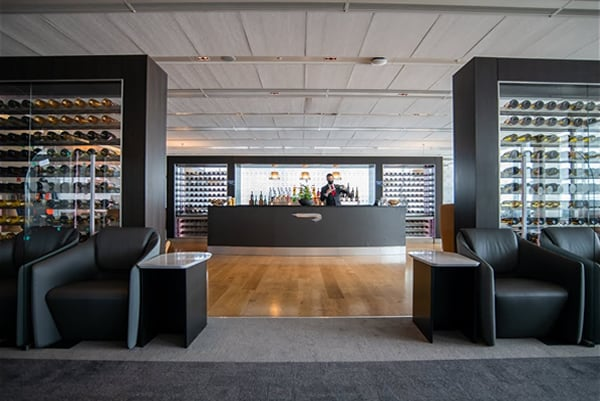 BA Lounge for Business Class