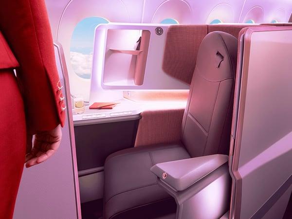 Virgin Upper Class Seat