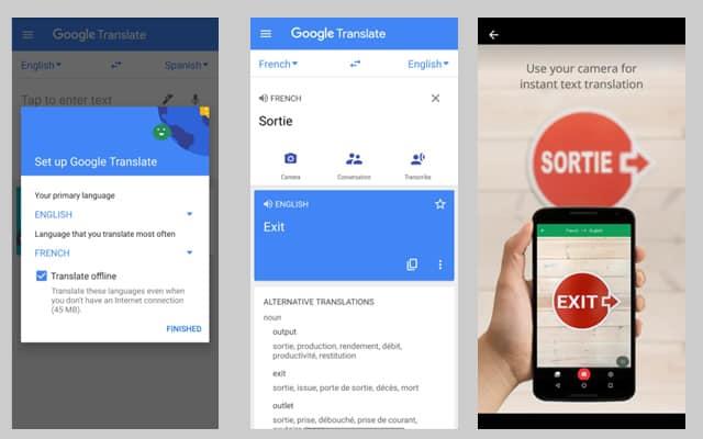 Google Translate App Test and Screenshots