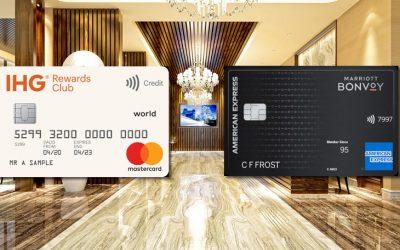 IHG Rewards Card vs Marriott Bonvoy Card – Best Hotel Card