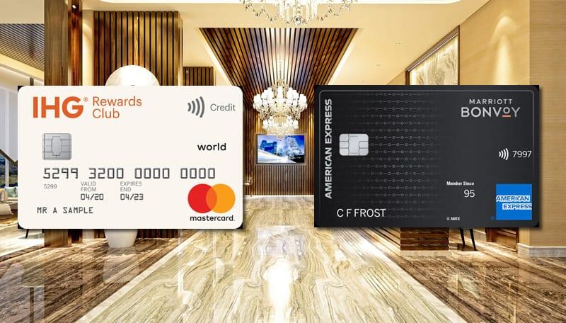 IHG Rewards Club Card vs Marriott Bonvoy Card