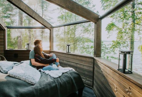 Revontuli Resort Glass Igloos Finland