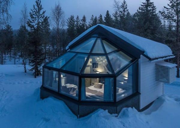 Santas Igloos Arctic Circle Finland