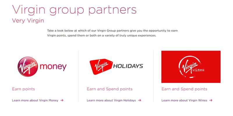 Virgin Points Brands