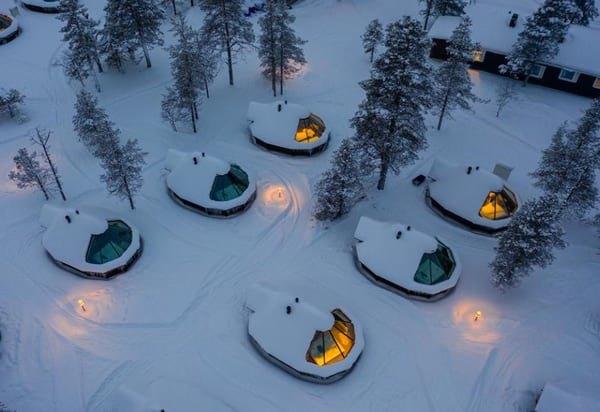 Wilderness Hotel and Igloos Finland