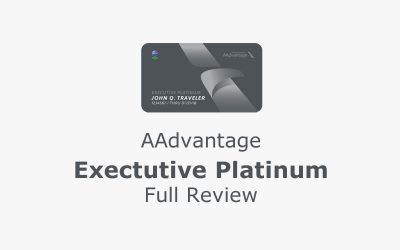 What is AAdvantage Executive Platinum: [Full Review]