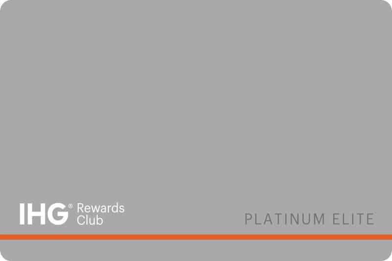 IHG Platinum Elite Benefits