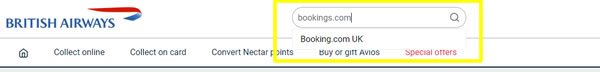 Search Booking